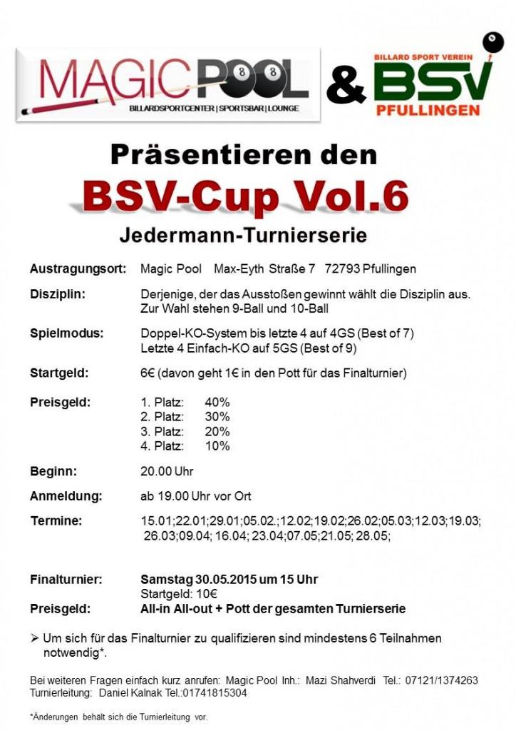 Turnierserie Vol.6
